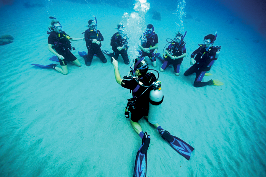 padi open water referral
